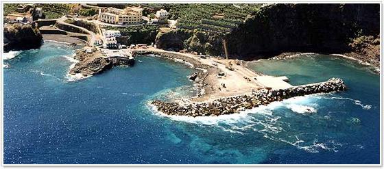 Puerto Espindola San Andrés y Sauces, La Palma