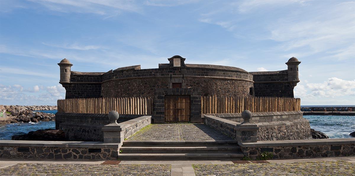 Castello di San Juan Bautista Santa Cruz de Tenerife isola di tenerife