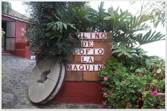 Molino de Gofio La Máquina, Villa de La Orotava