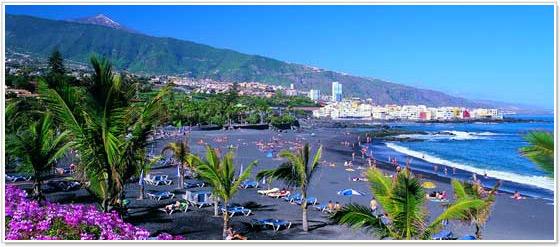 Playa Jardin, Puerto de la Cruz (Tenerife)