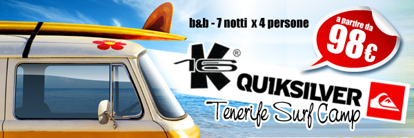 Surf Camp a Tenerife