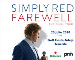 Simply Red Tenerife