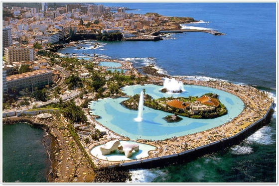 Spiagge tenerife isole canarie for Piscina la ballena tenerife