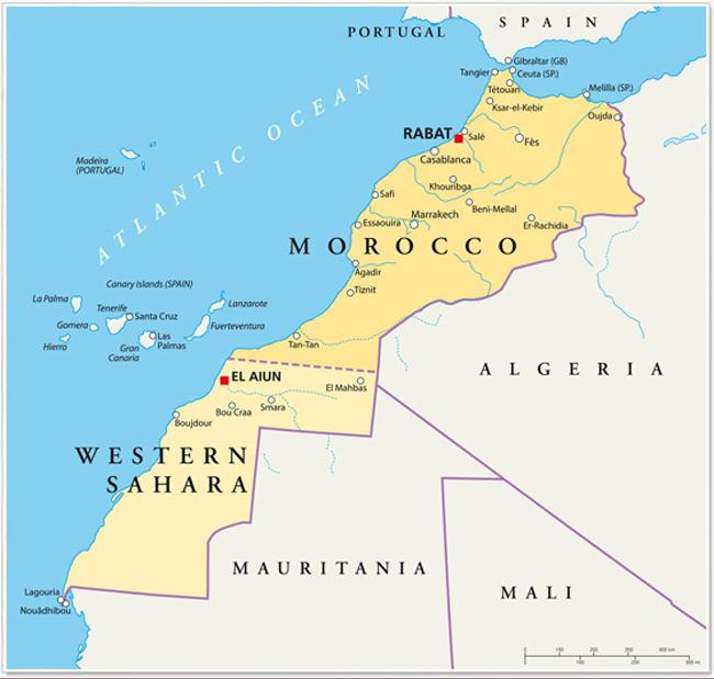 Cartina Spagna Fuerteventura.Dove Si Trovano Le Isole Canarie Isole Canarie